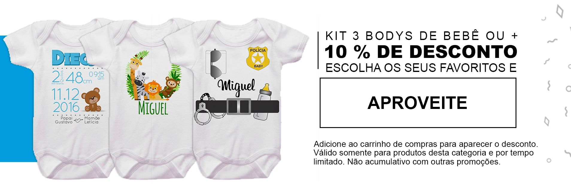 Body Bebê Personalizado - Empório Camiseteria