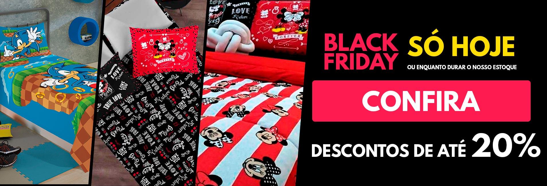 Descontos de até 20% - Black Friday Empório Camiseteria