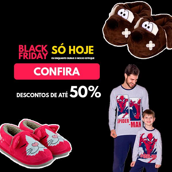 Descontos de até 50% - Black Friday Empório Camiseteria