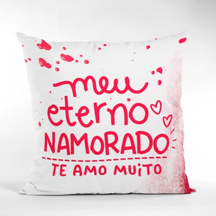 Almofada Eterno Namorado - CA1309