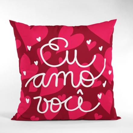 Almofada Eu Amo Você - CA1322