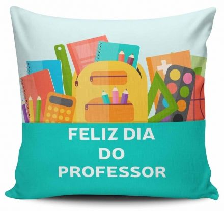 Almofada Feliz Dia do Professor