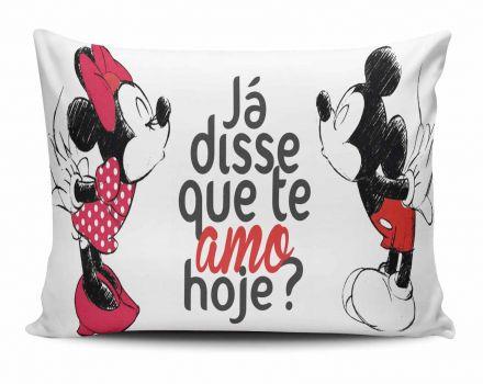 Almofada Já Disse Que Te Amo Hoje? Mickey e Minnie