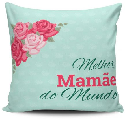 Almofada Melhor Mamãe do Mundo