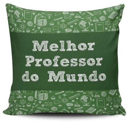 Almofada Melhor Professor do Mundo