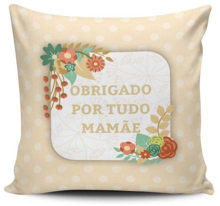 Almofada Obrigado Por Tudo Mamãe