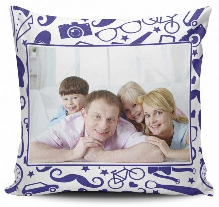 Almofada Personalizada Com Foto Pai