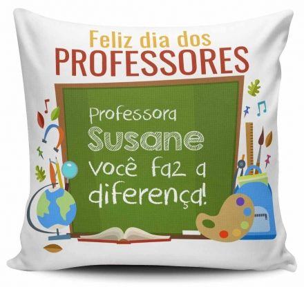 Almofada Personalizada Feliz dia dos Professores