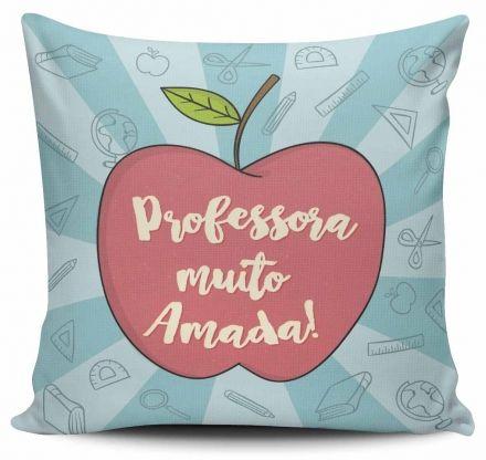 Almofada Professora Muito Amada