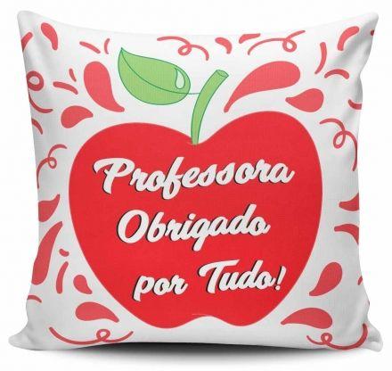 Almofada Professora Obrigado por Tudo