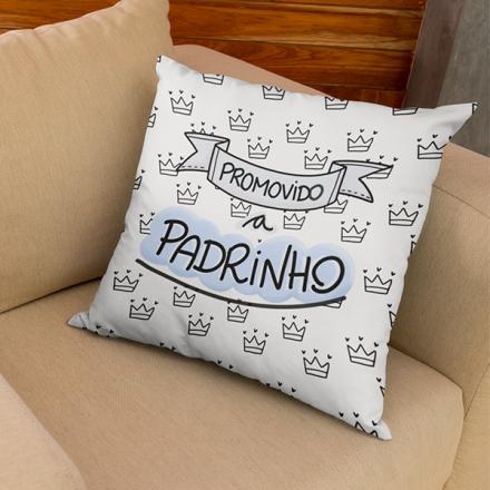 Almofada Promovido a Padrinho - CA1261