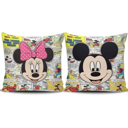 Almofadas Mickey e Minnie Gibi
