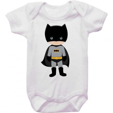 Body Bebê Batman