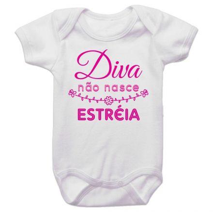 Body Bebê Diva Não Nasce Estréia