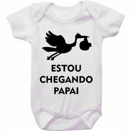 Body Bebê Estou Chegando Papai