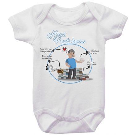 Body Bebê O Meu Vovô Tem