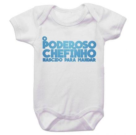 Body Bebê O Poderoso Chefinho Nascido para Mandar