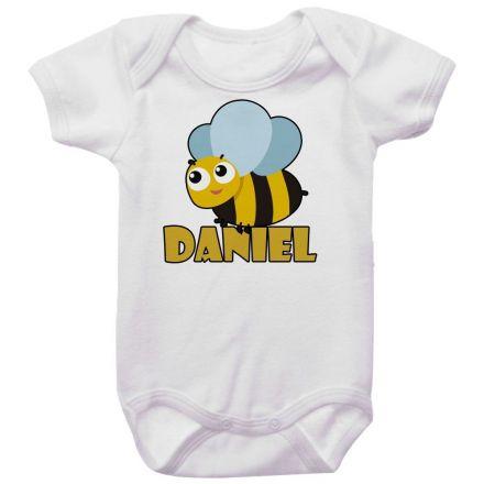 Body Bebê Personalizado Abelha
