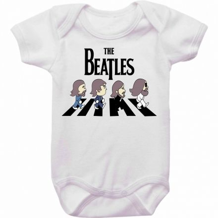 Body Bebê Rock Beatles
