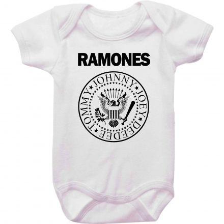 Body Bebê Rock Ramones