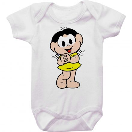 Body Bebê Turma da Mônica - Magali