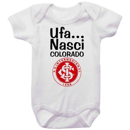 Body Bebê Ufa Nasci Colorado