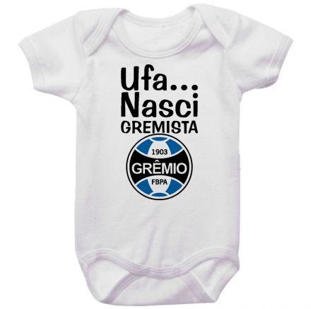 Body Bebê Ufa Nasci Gremista