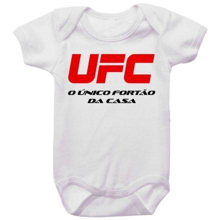 Body Bebê UFC O Único Fortão da Casa
