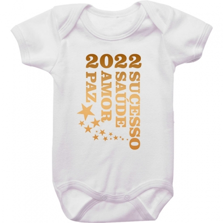 Body de Bebê Ano Novo CA0937