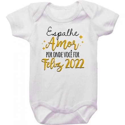 Body de Bebê Ano Novo CA0941