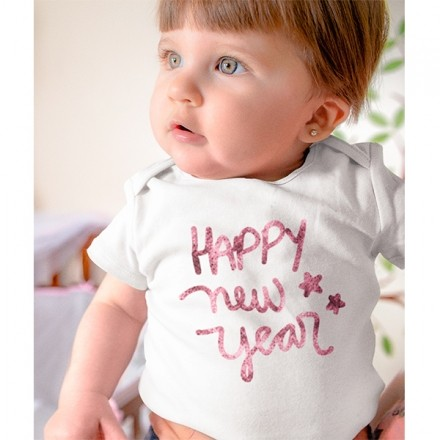 Body de Bebê Ano Novo - CA1131