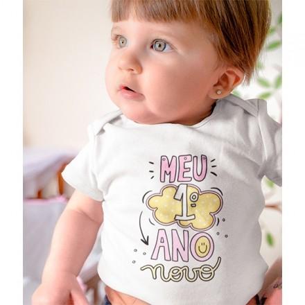 Body de Bebê Ano Novo - CA1134