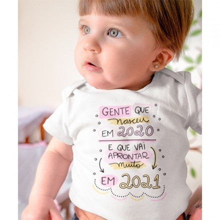 Body de Bebê Ano Novo - CA1135