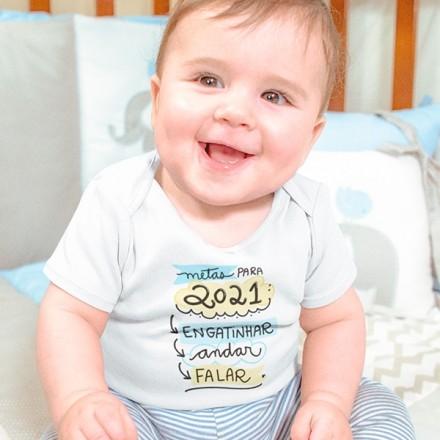 Body de Bebê Ano Novo - CA1136