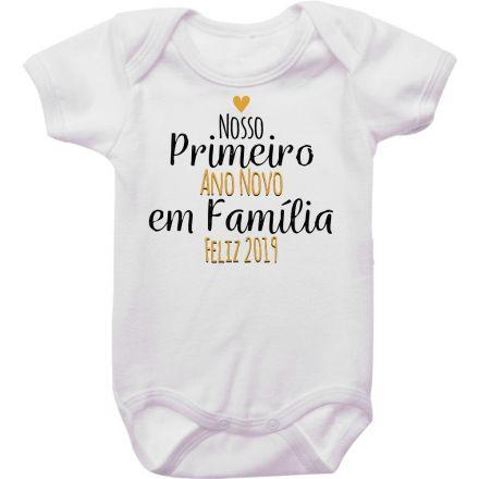 Body de Bebê Ano Novo FN0069