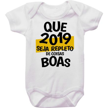 Body de Bebê Ano Novo FN0070