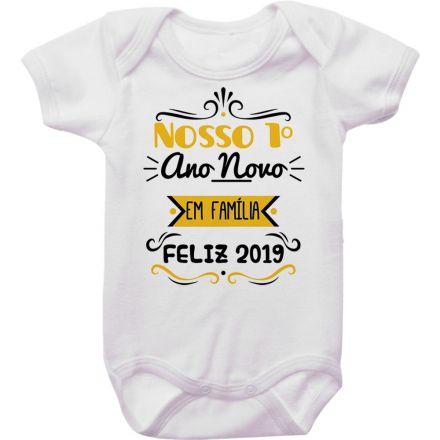Body de Bebê Ano Novo FN0073