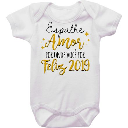 Body de Bebê Ano Novo FN0085
