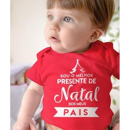 Body de Bebê Natal - CA1052