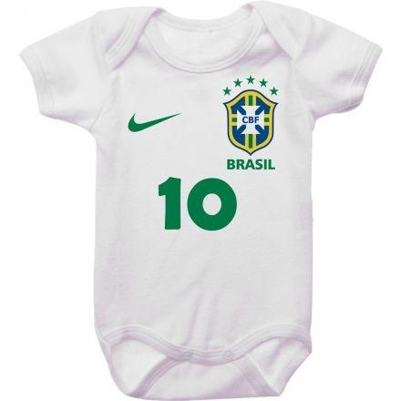 Body de Bebê Seleção Camiseta 10