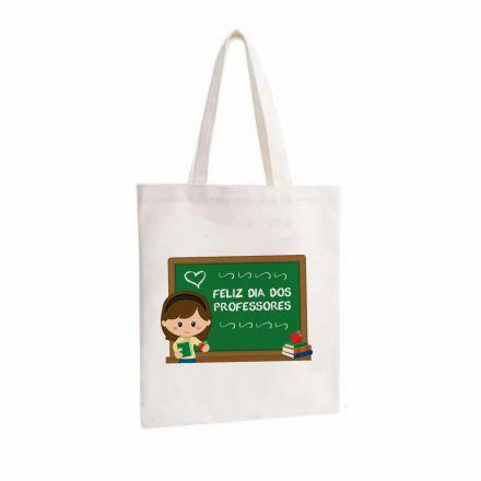Bolsa Ecobag Branca Dia dos Professores EC0017