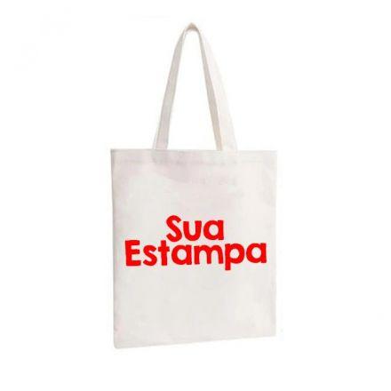 Bolsa Ecobag Personalizada Sua Estampa