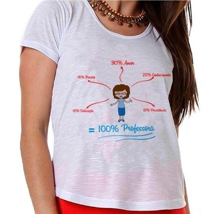 Camiseta 100% Professor