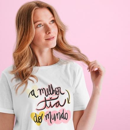 Camiseta A Melhor Tia do Mundo - CA1269