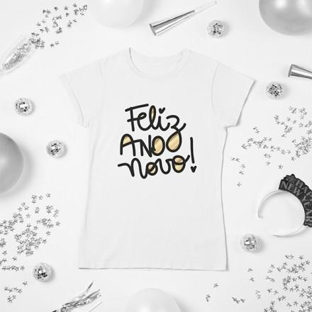 Camiseta BabyLook Ano Novo - CA1139