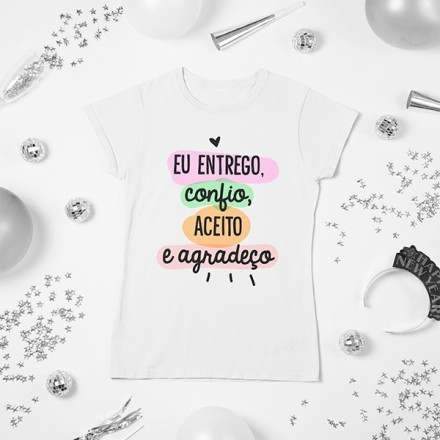 Camiseta BabyLook Ano Novo - CA1144