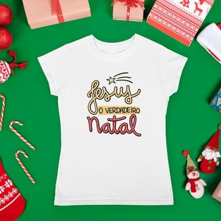 Camiseta BabyLook Natal - CA1085