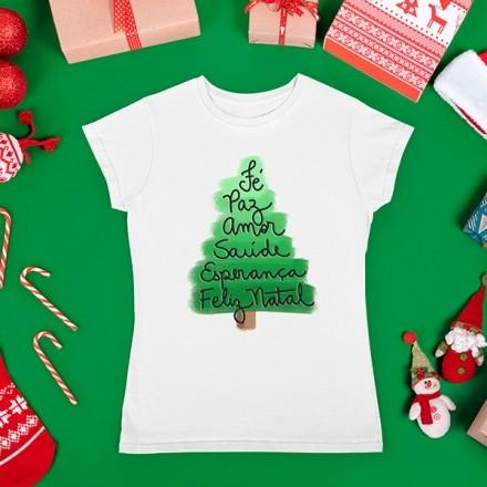 Camiseta BabyLook Natal - CA1086