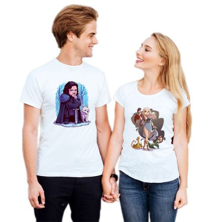 Camiseta Casal Game Of Thrones CA0739