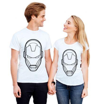 Camiseta Casal Homem de Ferro CA0737